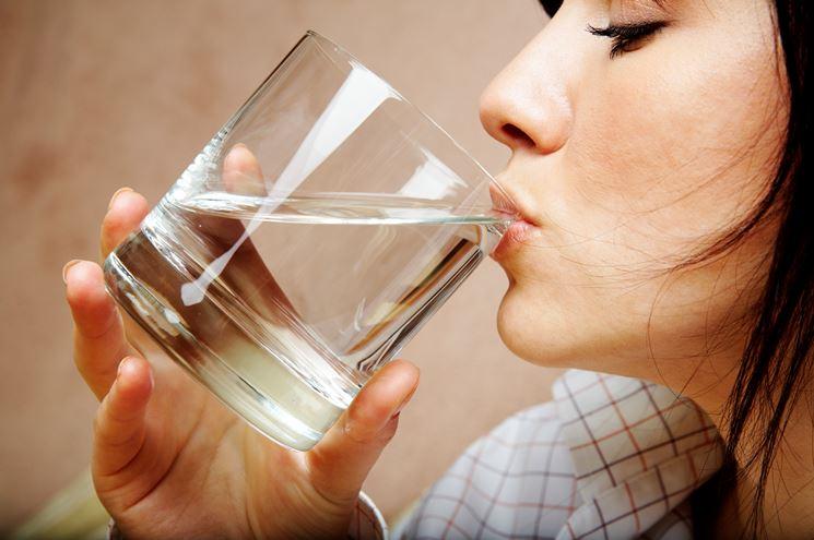 L'idratazione è fondamentale contro i ristagni