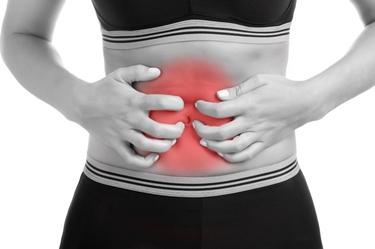Irritazione e dolore addominale