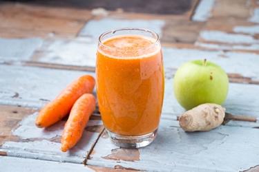 succhi di carote