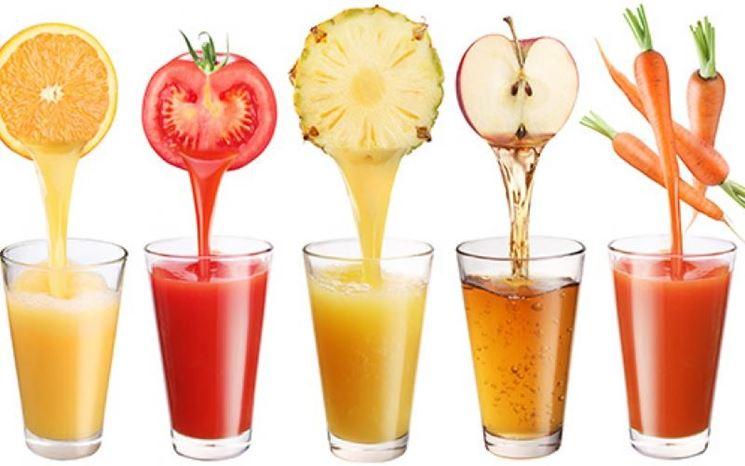 Spremute frutta verdura
