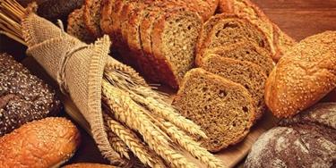 I carboidrati si trovano in tutti i derivati del grano