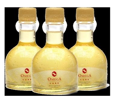 Bottiglie di olio di merluzzo