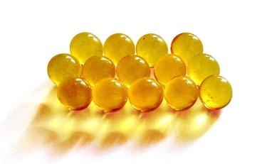 Perle di olio di merluzzo
