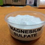 Solfato di magnesio in polvere