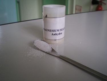 Integratore di magnesio solfato