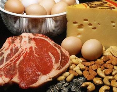 carni e uova proteine