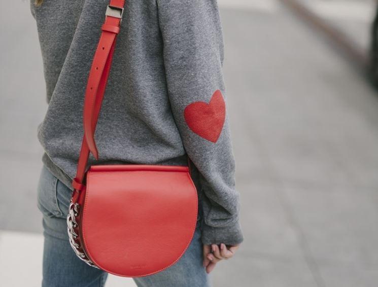 borsa rossa san valentino