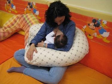 Cuscino allattamento<p />