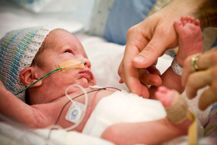 Bambino nato prematuramente