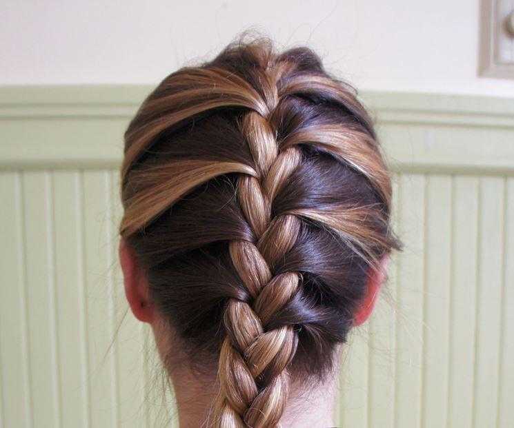 Favorito Acconciature con trecce - Capelli Lunghi - Acconciatura capelli lunghi EC14