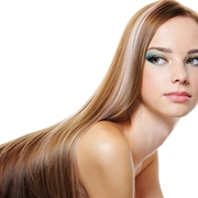 capelli lunghi lisci scalati
