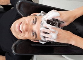 Taglio uomo capelli