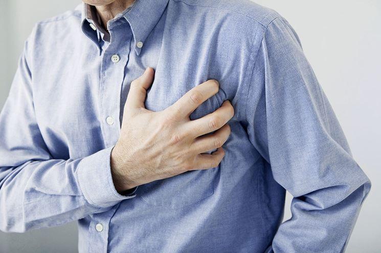 L'infarto causa del formicolio