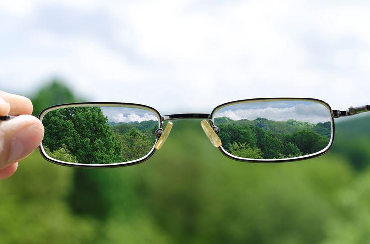 Occhiali astigmatici