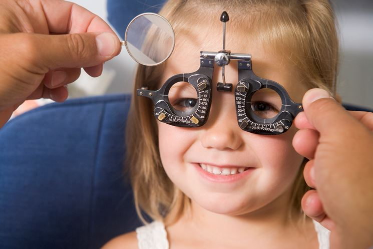 Visita dall'optometrista