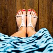 piedi femminili