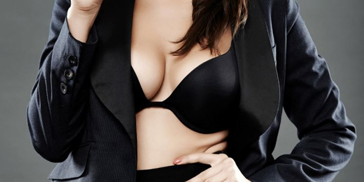 Un seno in perfetta forma
