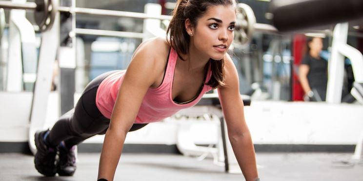 Esercizio efficace per il seno