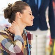 Artrosi cervicale con dolori al collo