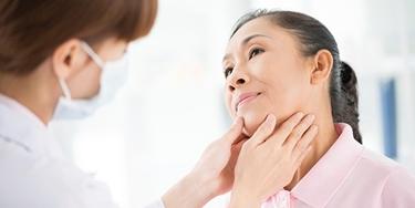 controllo linfonodi del collo