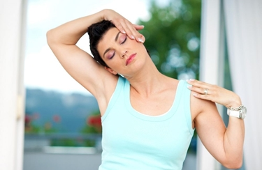 Esercizio per la cervicale