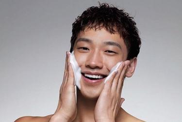 detergente viso uomo