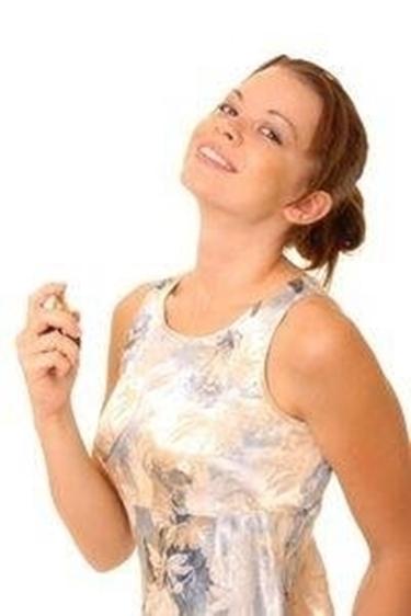 donna e profumo