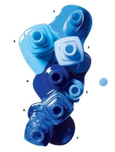 smalti blu