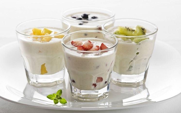 Latte di Kefir con frutta