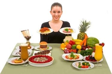 verdura e frutta alla base