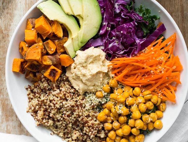 dieta vegana a basso contenuto di fibre