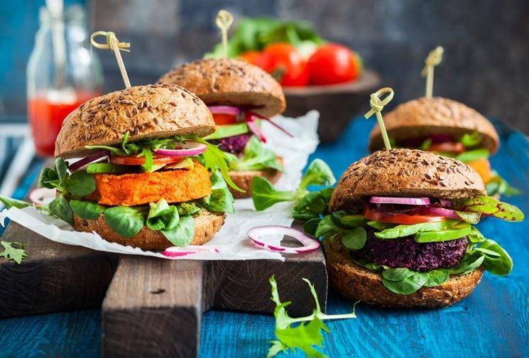 Hamburger vegani