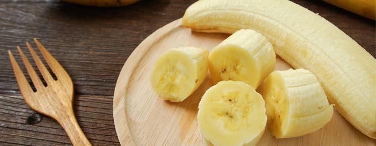 Banana contro la diarrea
