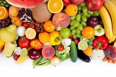 Frutta e verdura sana