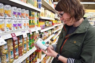 Leggere l'etichetta dei prodotti