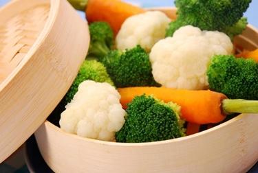 Piatto di verdure varie