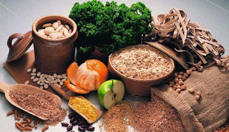 Alimenti macrobiotici crudi