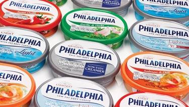 Ci sono molte varietà di Philadelphia<p />