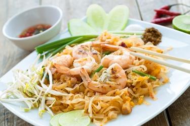 Piatto della dieta asiatica