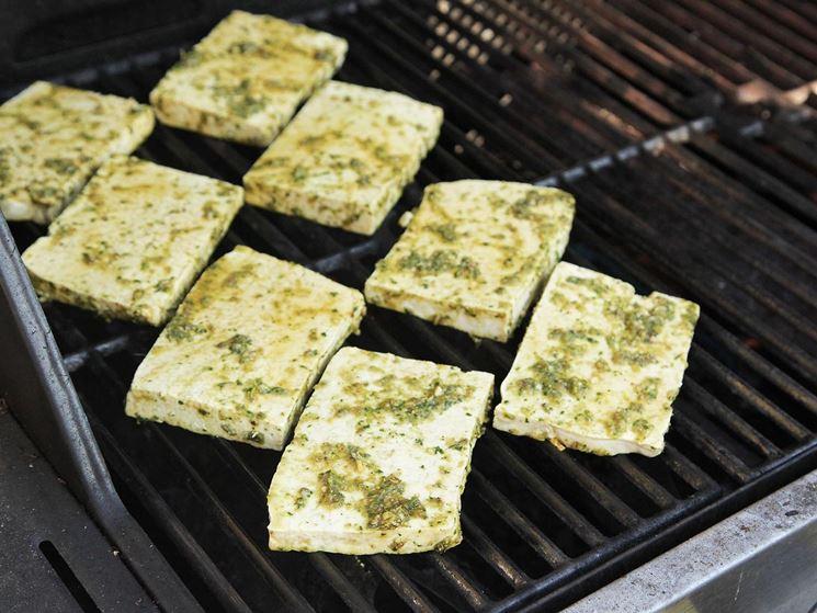 Tofu sulla griglia