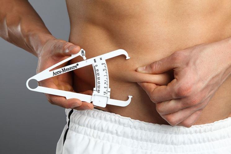 Plicometro calcolo massa grassa