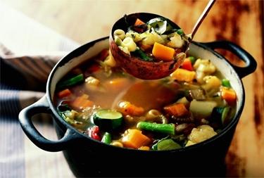 Vegetali per minestrone