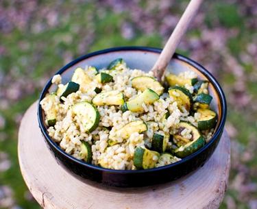 risotto di zucchine