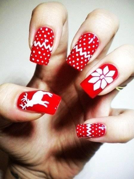 Decorazione unghie manicure decorazione unghie metodi for Decorazioni natalizie unghie