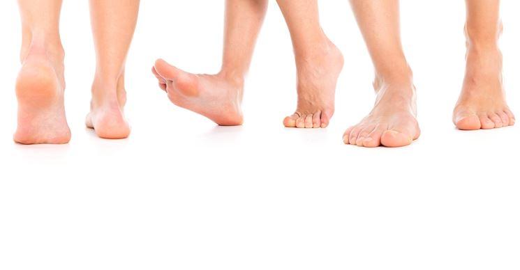 benefici per i piedi