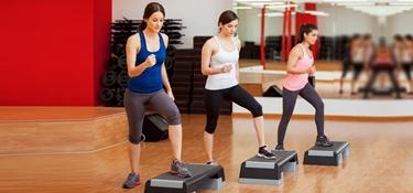 esercizi per aerobica step