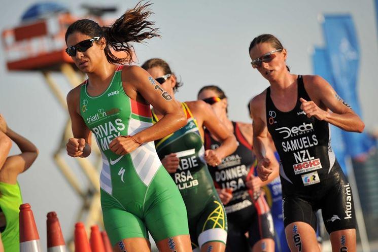 atlete triathlon corrono