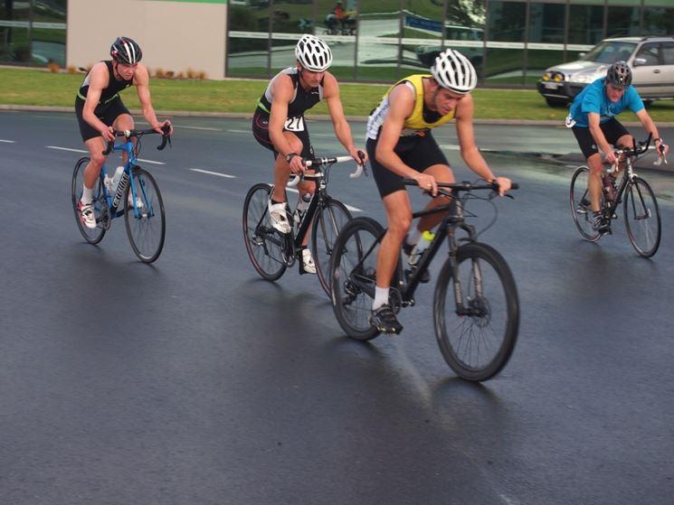 Ciclista duathlon