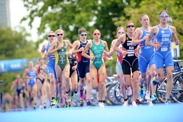 Prova di corsa nel triathlon<p />