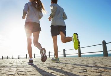 Coppia di runner